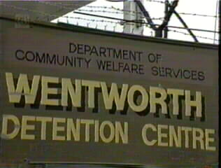 DEPARTMENT OF COMMUNITY WELFARE SERVICES WENTWORTH DETENTION CENTRE